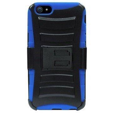iPhone 6 Plus / 6S Plus Beyond Cell Armor Combo Suojakotelo Musta / Sininen