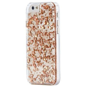 iPhone 6 Plus / 6S Plus Case-Mate Karat Kuori Ruusukulta