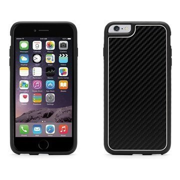 iPhone 6 Plus / 6S Plus Griffin Identity Graphite Case Black / White