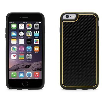 iPhone 6 Plus / 6S Plus Griffin Identity Graphite Case Black / Yellow