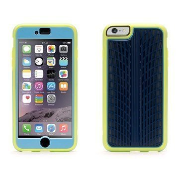 iPhone 6 Plus / 6S Plus Griffin Identity Performance Case Citron / Navy