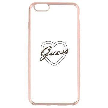 iPhone 6 Plus / 6S Plus Guess Signature TPU-Kotelo Sydän Ruusukulta