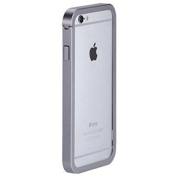 iPhone 6 Plus / 6S Plus Just Mobile AluFrame Suojareunus Harmaa