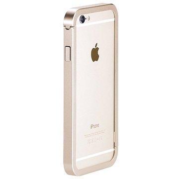 iPhone 6 Plus / 6S Plus Just Mobile AluFrame Suojareunus Kulta