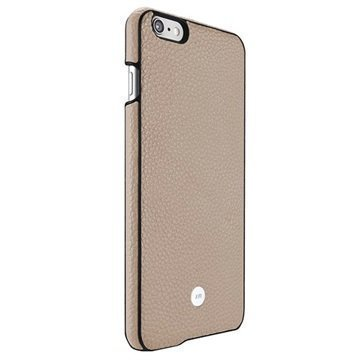 iPhone 6 Plus / 6S Plus Just Mobile Quattro Back Nahkakotelo Beige
