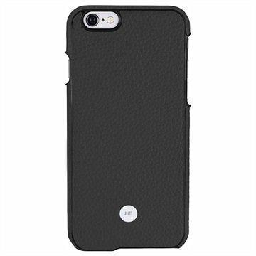 iPhone 6 Plus / 6S Plus Just Mobile Quattro Back Nahkakotelo Musta