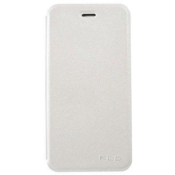 iPhone 6 Plus / 6S Plus Kalaideng L Series Läppäkotelo Valkoinen