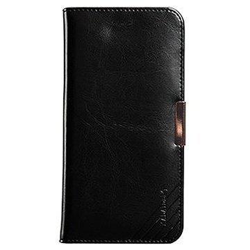 iPhone 6 Plus / 6S Plus Kalaideng Royale II Lompakkomallinen Nahkakotelo Musta