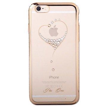 iPhone 6 Plus / 6S Plus Kingxbar Swarovski Crystal Suojakotelo Sydän
