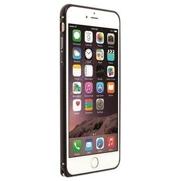 iPhone 6 Plus / 6S Plus Krusell Sala Alumiininen Suojapuskuri Musta