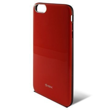 iPhone 6 Plus / 6S Plus Ksix Flex Solid Case Red