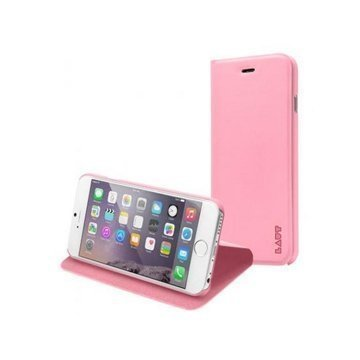 iPhone 6 Plus / 6S Plus LAUT APEX Folio Case Pink