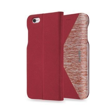 iPhone 6 Plus / 6S Plus LAUT K-FOLIO Folio Case Red