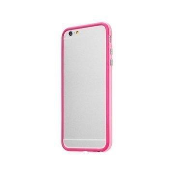 iPhone 6 Plus / 6S Plus LAUT LOOPIE Suojareunus Vaaleanpunainen