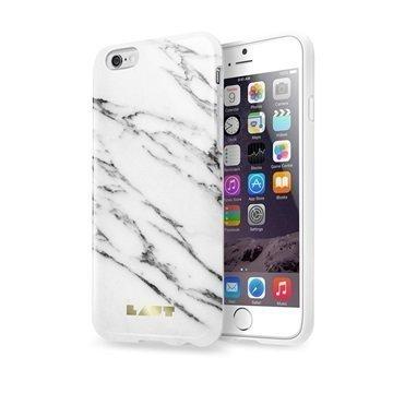 iPhone 6 Plus / 6S Plus Laut Huex TPU Case Marble White