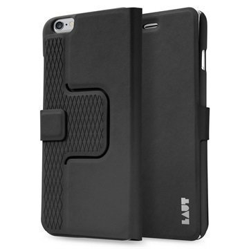 iPhone 6 Plus / 6S Plus Laut R-Evolve Pyörivä Smart Folio Kotelo Musta