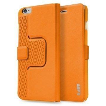 iPhone 6 Plus / 6S Plus Laut R-Evolve Pyörivä Smart Folio Kotelo Oranssi