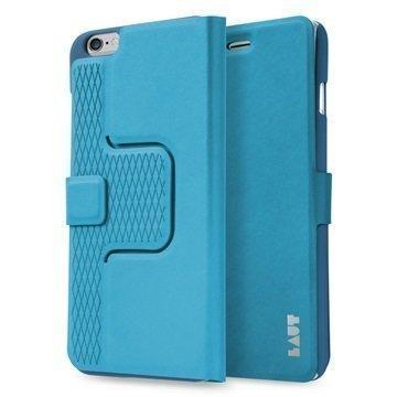 iPhone 6 Plus / 6S Plus Laut R-Evolve Pyörivä Smart Folio Kotelo Sininen