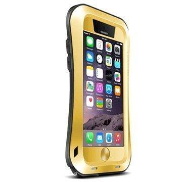 iPhone 6 Plus / 6S Plus Love Mei Powerful Hybrid Suojakuori Kultainen