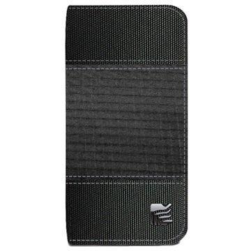 iPhone 6 Plus / 6S Plus Maroo The Alpha Plus Avattava Kotelo Musta