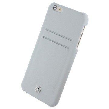 iPhone 6 Plus / 6S Plus Mercedes-Benz Pure Line Kova Kotelo Harmaa