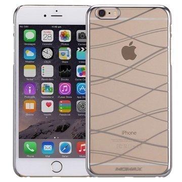 iPhone 6 Plus / 6S Plus Momax Splendor Kova Kotelo Hopeinen