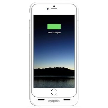 iPhone 6 Plus / 6S Plus Mophie Juice Pack Akkukotelo Valkoinen