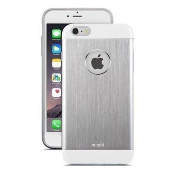 iPhone 6 Plus / 6S Plus Moshi iGlaze Armour Case Silver