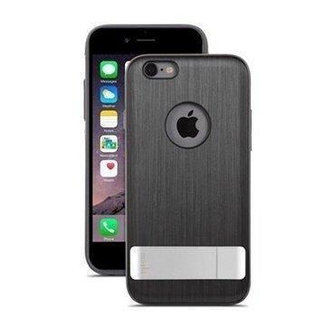 iPhone 6 Plus / 6S Plus Moshi iGlaze Kameleon Seisontatuki Kotelo Musta