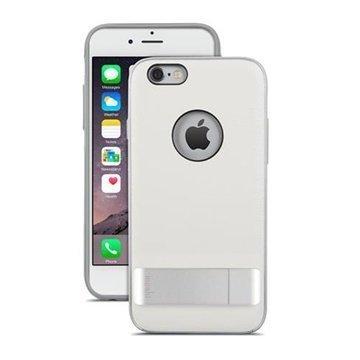 iPhone 6 Plus / 6S Plus Moshi iGlaze Kameleon Seisontatuki Kotelo Valkoinen
