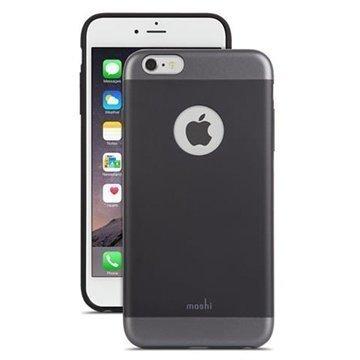 iPhone 6 Plus / 6S Plus Moshi iGlaze Kotelo Musta