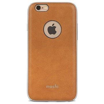 iPhone 6 Plus / 6S Plus Moshi iGlaze Napa Kotelo Caramel Beige
