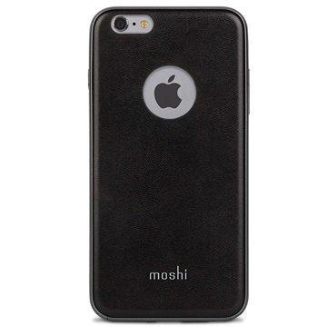 iPhone 6 Plus / 6S Plus Moshi iGlaze Napa Kotelo Onyx Musta