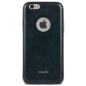 iPhone 6 Plus / 6S Plus Moshi iGlaze Napa Kotelo Yön Sininen