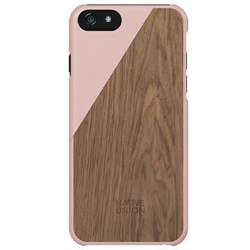 iPhone 6 Plus / 6S Plus Native Union Clic Wooden Puinen Suojakuori Blossom