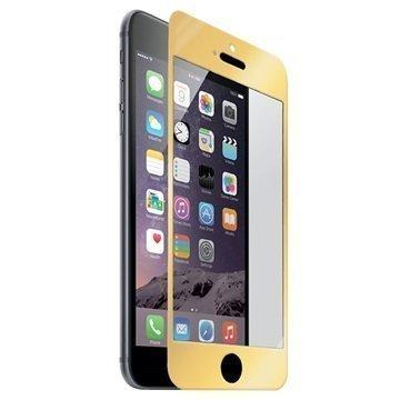 iPhone 6 Plus / 6S Plus Naztech Näytönsuoja Karkaistua Lasia Kultainen