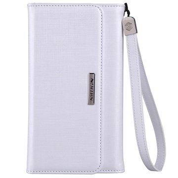 iPhone 6 Plus / 6S Plus Nillkin Bazaar Series Lompakkokotelo Valkoinen
