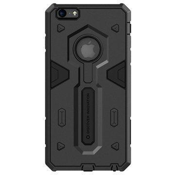 iPhone 6 Plus / 6S Plus Nillkin Defender II Series Hybrid Suojakuori Musta