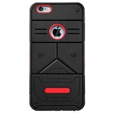 iPhone 6 Plus / 6S Plus Nillkin Defender III Series Hybridikotelo Musta / Punainen