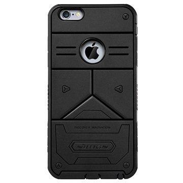 iPhone 6 Plus / 6S Plus Nillkin Defender III Series Hybridikotelo Musta