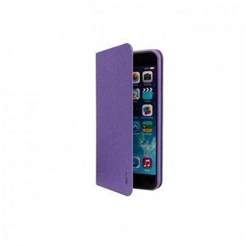 iPhone 6 Plus / 6S Plus Ozaki O!Coat 0.4 Folio Lompakkomallinen Nahkakotelo Violetti