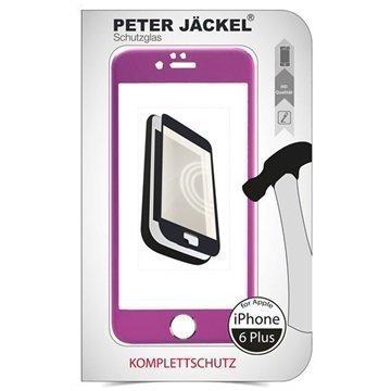 iPhone 6 Plus / 6S Plus Peter Jäckel Full Display HD Glass Screen Protector Pink