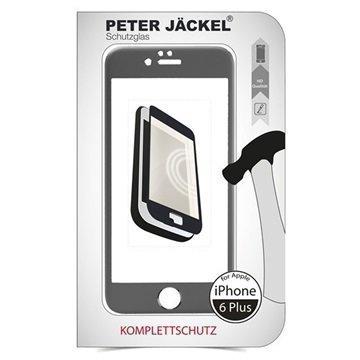 iPhone 6 Plus / 6S Plus Peter Jäckel Koko Näytön HD Lasi Näytönsuoja Harmaa