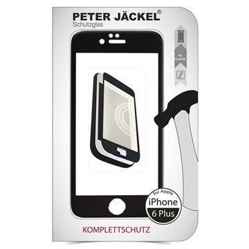 iPhone 6 Plus / 6S Plus Peter Jäckel Koko Näytön HD Lasi Näytönsuoja Musta