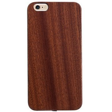 iPhone 6 Plus / 6S Plus Peter Jäckel Woody Wireless Charging Case Dark Brown