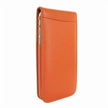 iPhone 6 Plus / 6S Plus Piel Frama Classic Magnetic Nahkakotelo Oranssi