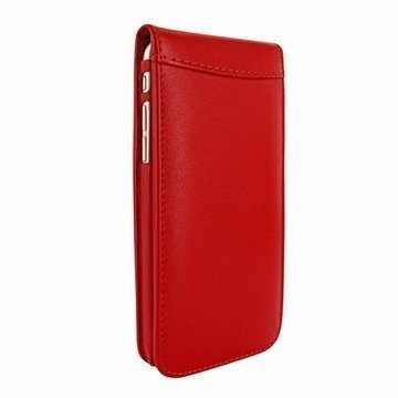 iPhone 6 Plus / 6S Plus Piel Frama Classic Magnetic Nahkakotelo Punainen