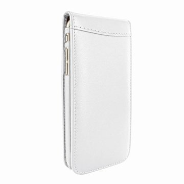 iPhone 6 Plus / 6S Plus Piel Frama Classic Magnetic Nahkakotelo Valkoinen