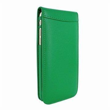 iPhone 6 Plus / 6S Plus Piel Frama Classic Magnetic Nahkakotelo Vihreä