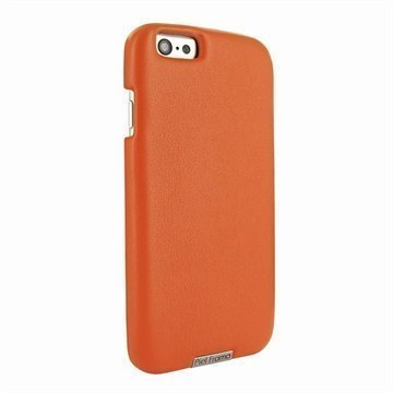 iPhone 6 Plus / 6S Plus Piel Frama FramaGrip Nahkakotelo Oranssi
